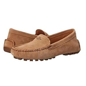 Coach Amber Suede Loafers Driving Moccasins